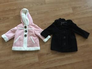 As New - x2 Old Navy Baby Jacket Formal Casual Girl Size 12-24 Months