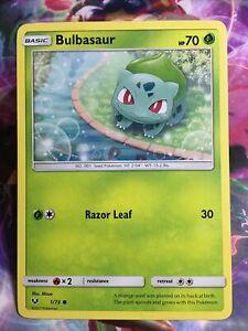 Pokemon Card TCG Bulbasaur Shining Legends