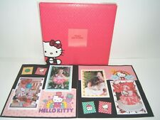 Hello Kitty Scrapbook Album, 12 by 12, Ready for your 4 by 6 pics, premade