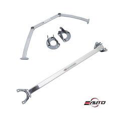 MEGAN Race Front+Rear Strut Tower Bar Brace for Miata MX5 16-17 *Club/Brembo Pkg