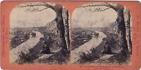 Suisse Interlaken E Di Unterseen Foto Lamy Stereo Vintage Albumina Ca 1870