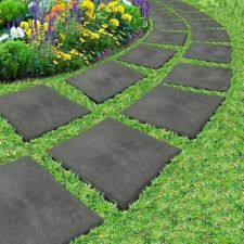 4 X Stomp Stone Stepping Stones Recycled Rubber & Materials Hard Wearing Durable