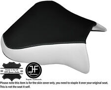 DESIGN 2 WHITE BLACK CUSTOM FITS APRILIA RSV 01-03 TUONO 04-05 1000 SEAT COVER