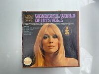 Wonderful World of Hits Vol 5 Hollywood Sound Stage 7-inch Reel Tape Guaranteed