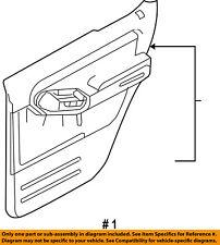 FORD OEM 07-10 Explorer Sport Trac-Door Interior Trim Panel Left 7L2Z7827407BAB