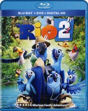 RIO 2 (BLU-RAY + DVD + DIGITAL HD) (BLU-RAY) (BLU-RAY)