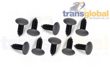 Roof Head Lining Fir Tree Trim Black Clips x10 for Land Rover Defender 90 110