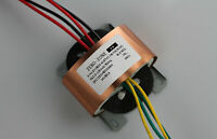 220V 50W R-Core Transformer for Amplifier Preamps DAC CD 15V+15V 8V+8V 36V 5V