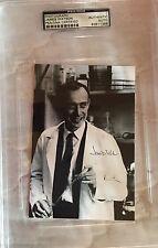 JAMES D. WATSON SIGNED AUTOGRAPHED PHOTO DNA FOUNDER NOBEL PSA/DNA ENCAPSULATED