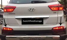 Imported Rear Bumper Back Tail Reflector LED Brake DRL Lambo Style Hyundai Creta