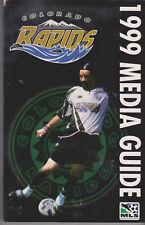 Presentatiegids / Presentation Magazine Media Guide Colorado Rapids 1999