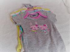 Gerber Baby Girl 0-3 M Set Of 5 Onesies
