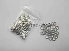 100 STÜCK Aluminiumringe Alu Dichtringe Dichtungen AL 6x10x1,0mm DIN7603 Form A
