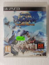 PS3 SONY PLAYSTATION 3 SENGOKU BASARA SAMURAI HEROES - CAPCOM - SEALED