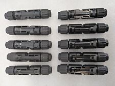 10 PAIRS OF MC4 CONNECTOR MALE-FEMALE FOR SOLAR SYSTEM WIRE