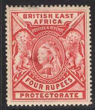 BRITISH EAST AFRICA SG95 1897 4r CARMINE MTD MINT