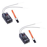 2pcs S603 remote receiver for Spektrum Transmitter AR6210,DSMX, DSM2,JR RC