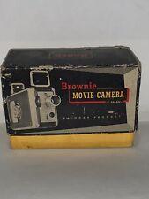 Vintage Kodak Brownie 8mm Movie Camera Model 2 No. 77 F/2.3 Lens w/ Original Box