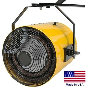Electric Wall Heater - Forced Fan - 51,195 BTU - 480 Volts - 3 Phase - 1100 CFM