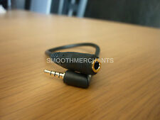 X2 Gold 3.5mm Female to 2.5mm Male Stereo Audio Headphone Jack Adapter Converter