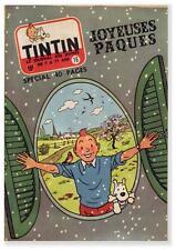 TINTIN 1957 n° 16 suppl pub catalogue Lombard