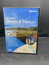 MICROSOFT STREETS & TRIPS 2006 SOFTWARE