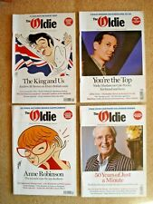 The Oldie Magazine Aug Sep Oct Dec 2017 Elvis Margaret Porter Orton 4 issues