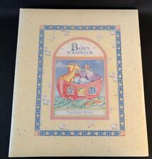 """Cr Gibson Cathy Heck 32 Pg Noah's Ark """"The Early Years� Scrapbook Blank Pages"""