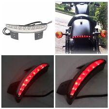 Rear Fender Edge LED Tail Light For Harley Davidson XL883L  XL883N Iron XL1200V