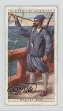 1930 Player's History of Naval Dress Tobacco Base #5 Master About 1590 Card 1x2