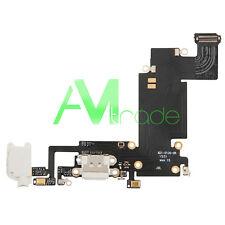 connettore flat ricarica USB per iPhone 6S PLUS BIANCO carica microfono AUX