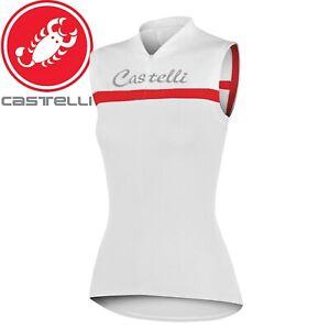 Castelli Promessa Sleeveless Women's Cycling Jersey - White
