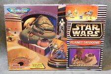 1996 Star Wars Micro Machines Planet Tatooine Set - Boba Fett - Princess Leia