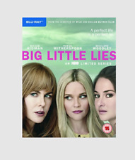 Big Little Lies Blu-ray [Region Free] Starring Nicole Kidman Reese Witherspoon
