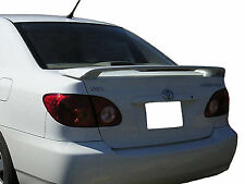PAINTED TOYOTA COROLLA FACTORY REAR WING SPOILER 2003-2008