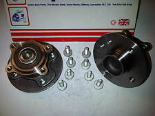 BMW MINI ONE R50 R52 R53 2001-2006 2x BRAND NEW REAR WHEEL BEARINGS HUBS & BOLTS