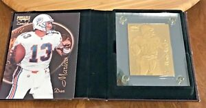 1996 DAN MARINO #13 PINNACLE HIGHLAND MINT BRONZE CARD #0970 of 2,500