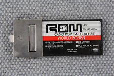 Casio ROM Pack RO-551 World Songs Vintage RARE