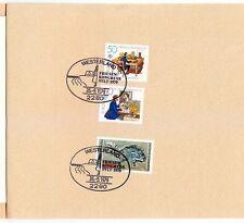 Germany 1979 Klappkarte Booklet Westerland Friesen Congress Sylt
