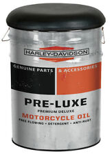 """Harley-Davidson® Pre-Luxe 13 Gallon Bucket Stool (21"""" H x 15"""" D) HDL-12137"""