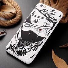 For iPhone 7 / 8 Plus Naruto Hatake Kakashe Anime Manga Cartoon 3D Case Cover