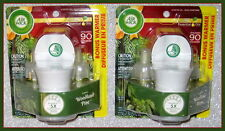 4 ~ AIR WICK SCENTED OIL REFILLS WOODLAND PINE LTD ED+ 2 WARMERS ~WINTER HOLIDAY