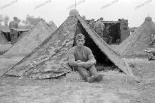 Cadere l'aerodromo di battaglia-SG-Stuka ala quartier tenda aeronautica Polonia