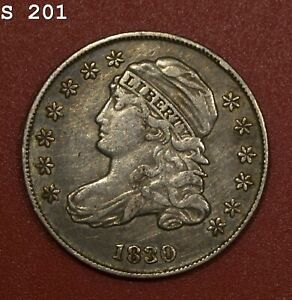 """1830 Capped Bust Dime """"XF"""" *Free S/H After 1st Item*"""