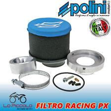 KIT FILTRO ARIA RACING POLINI PER VESPA PX E 200 24/24 + CICLER CARBURATORE OR.