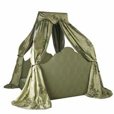 One-of-a-Kind Muriel Brandolini Draped Canopy King Size Bed from New York Estate