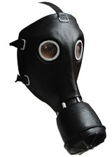 Black GP-5 Russian Gas Mask Bio Hazard Military Halloween Ghoulish Productions