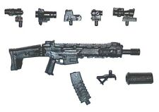"""Modular"" ACR Assault Rifle w/ Mag-1:18 Scale Weapon for 3-3/4"" Action Figures"