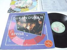 DURAN DURAN Arena - 1984 HOLLAND LP Live + booklet - DMM - Red sticker