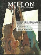 MILLON PARIS CHRISTIAN DURIAUD Workshop Art Paintings Auction Catalog 2013